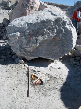 Oversize Boulder